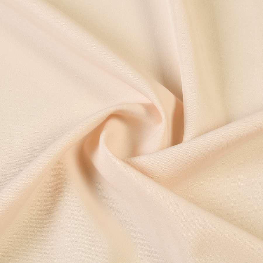 Ткань костюмная бистрейч бежевая светлая ш.150