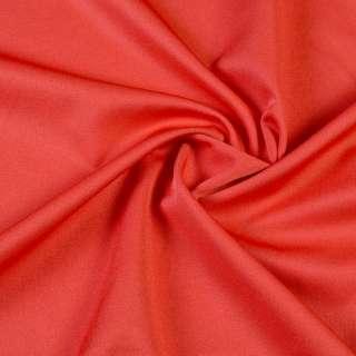 ткань кост. бистрейч. красно-оранжевая ш.150