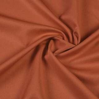 ткань кост. бистрейч. ржаво-коричневая ш.150