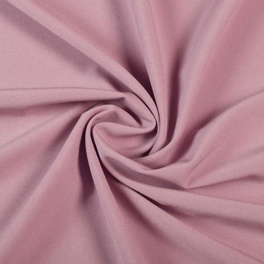 ткань кост. бистрейч. розово-серая ш.150