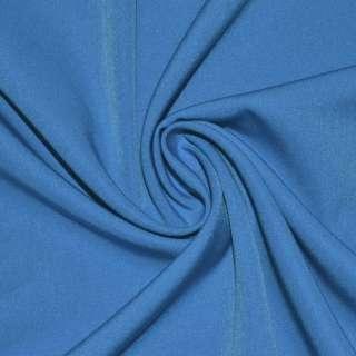 ткань кост. бистрейч. сине-голубая ш.150