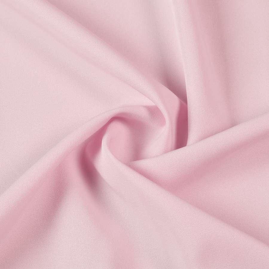 Тканина костюмна бістрейч рожева світла ш.150