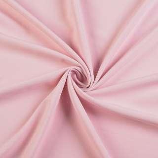 Ткань костюмная бистрейч розовая, ш.150