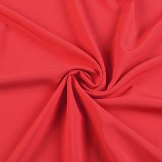 Тканина костюмна бістрейч червона, ш.150