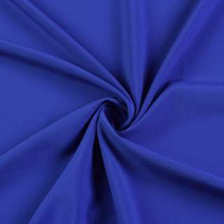 Ткань костюмная бистрейч синяя, ш.150