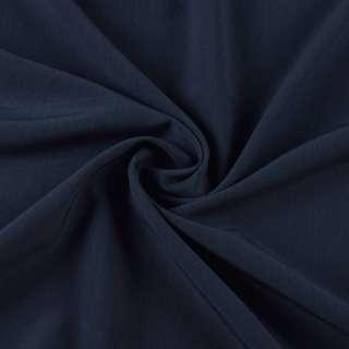 Бистрейч плательный синий темный, ш.155