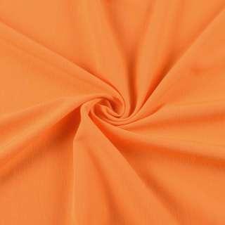 Бистрейч плательный оранжевый, ш.153