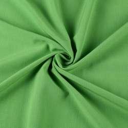 Бистрейч плательный зеленый, ш.150