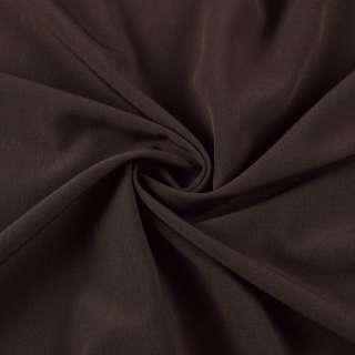 Бистрейч плательный коричневый темный, ш.150