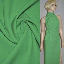 Биэластик креп зеленый ш.150