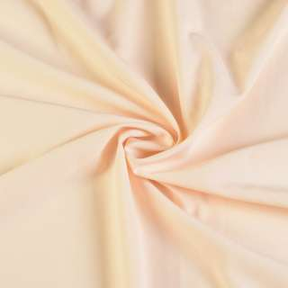 Биэластик гладкий бежево белый ш.150