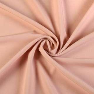 Биэластик гладкий темно-персиковый ш.150
