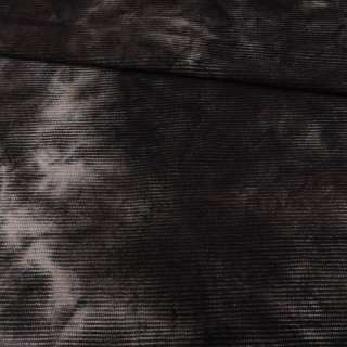Коттон стрейч вельветовий рубчик сірий