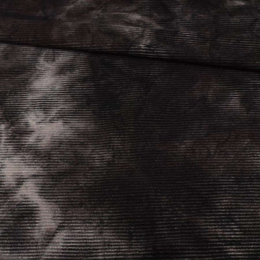 Стр.-коттон  вел.  рубчик  серый