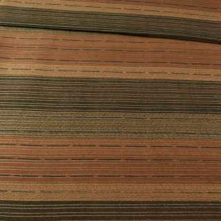 Коттон стрейч вельветовий рубчик гірчичний