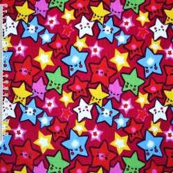 Мікровельвет малиновий зірки ш.110
