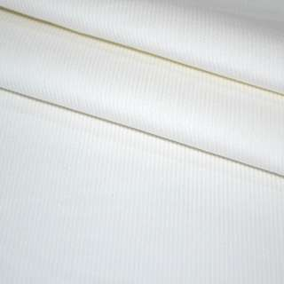 М/вельвет белый стрейч, однотонный, ш.150