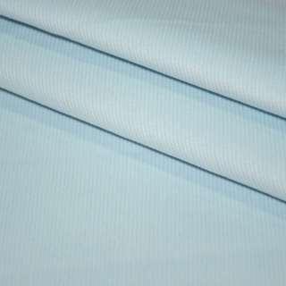М/вельвет бледно-голубой стрейч, однотонный, ш.150