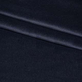 Микровельвет стрейч синий темный ш.150