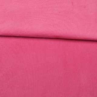 Мікровельвет стрейч рожевий яскравий ш.145