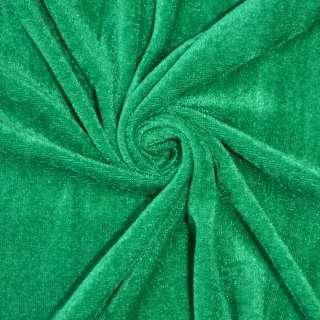 Велюр зелений ш.150