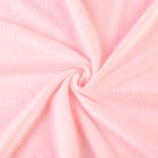 Велюр стрейч розовый светлый ш.165