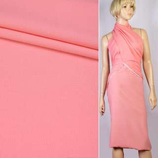 Креп рожево-персиковий ш.155