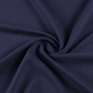 Креп стрейч синий темный, ш.155