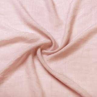 Вискоза жатая розово персиковая ш.150