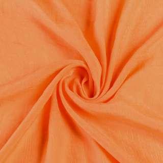 Вискоза жатая оранжевая ш.150