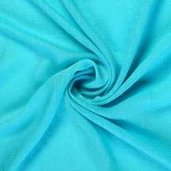 Віскоза жата яскраво блакитна ш.150