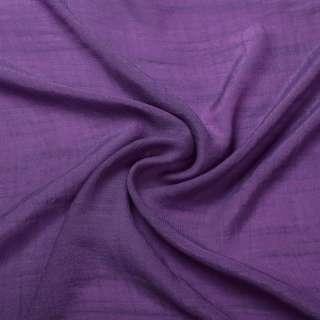 Вискоза жатая светло фиолетовая ш.150