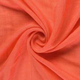 Вискоза жатая морковная ш.146