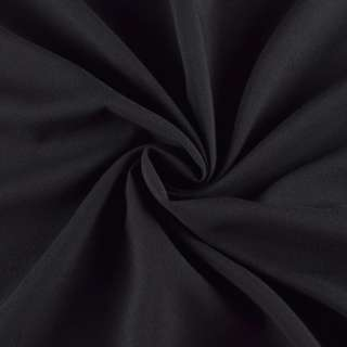 Поливискоза стрейч черная, ш.150