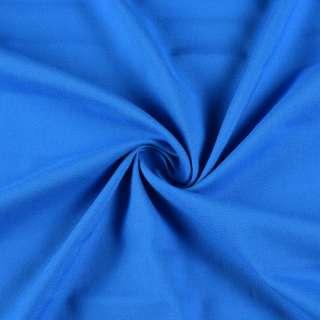 Вискоза стрейч синяя, ш.160