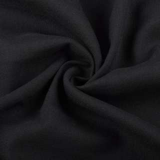 Вискоза стрейч черная ш.145