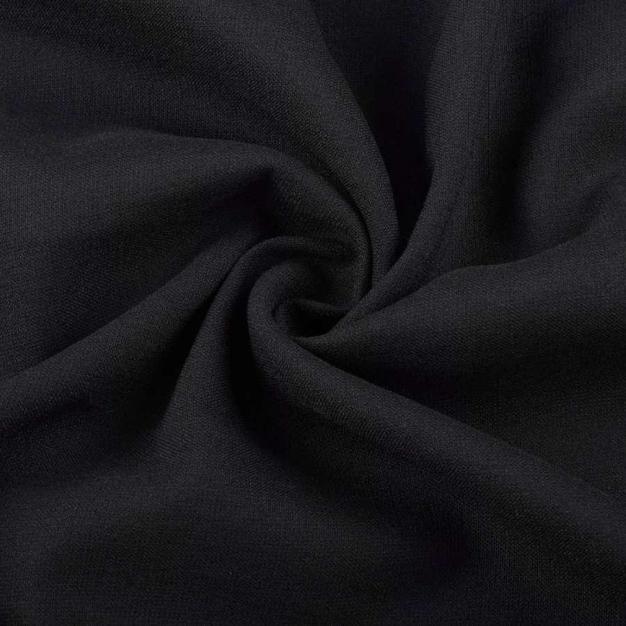 Віскоза стрейч чорна ш.145