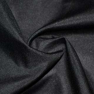 Габардин полегшений чорний ш.150