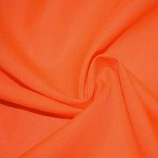 Габардин облегченный оранжевый неон ш.150