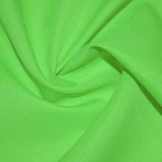 Габардин полегшений яскраво-зелений ш.150