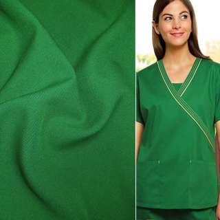 Габардин зелений ш.150