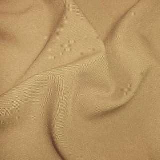 Габардин коричневий світлий ш.150