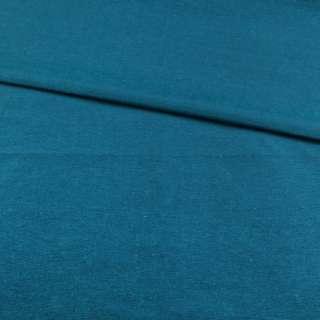 Поликоттон сине голубой ш.145