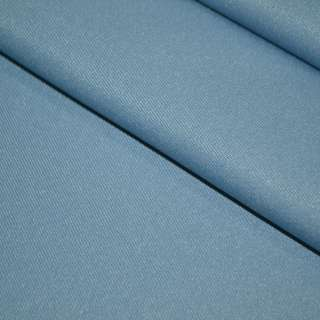 твил кост. однотон. голубой, ш.150