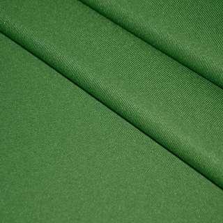 твил кост. однотон. зеленый, ш.150