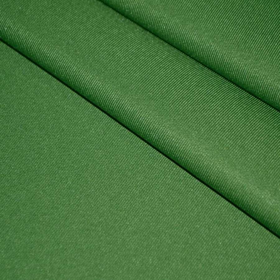 Твил костюмный зеленый, ш.150