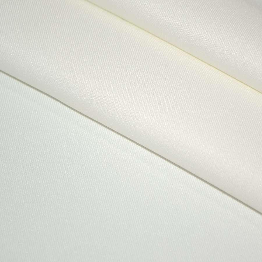 Твил костюмный молочный, ш.150