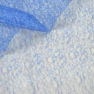 Паутинка жесткая синяя ш.150