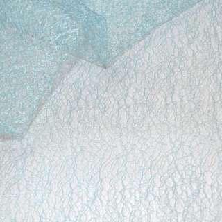 Паутинка жесткая голубая ш.150