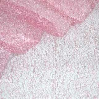 Гипюр-паутинка розовая темная ш.150
